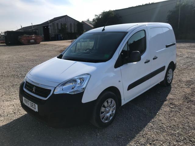 2017 Peugeot Partner 850 1.6 Bluehdi 100 Professional Van [Non Ss] EURO 6 (NV17OED) Image 3