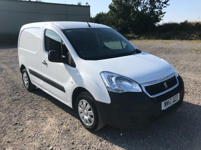 2017 Peugeot Partner 850 1.6 Bluehdi 100 Professional Van [Non Ss] EURO 6 (NV17OED)