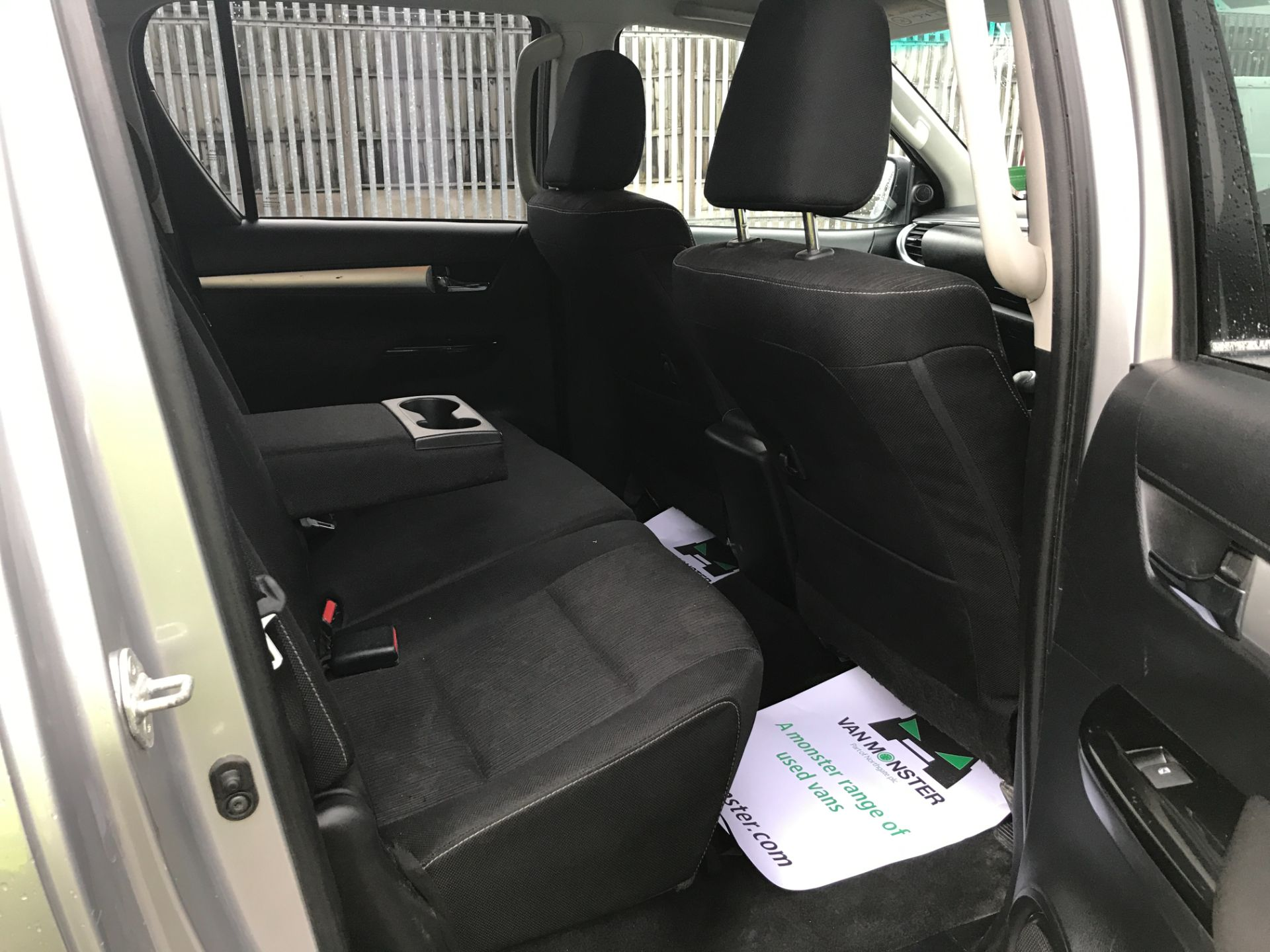 2017 Toyota Hilux  DOUBLE CAB 3.0D4D 4X4 171PS INVINCIBLE EURO 5 (NV17SMO) Image 16