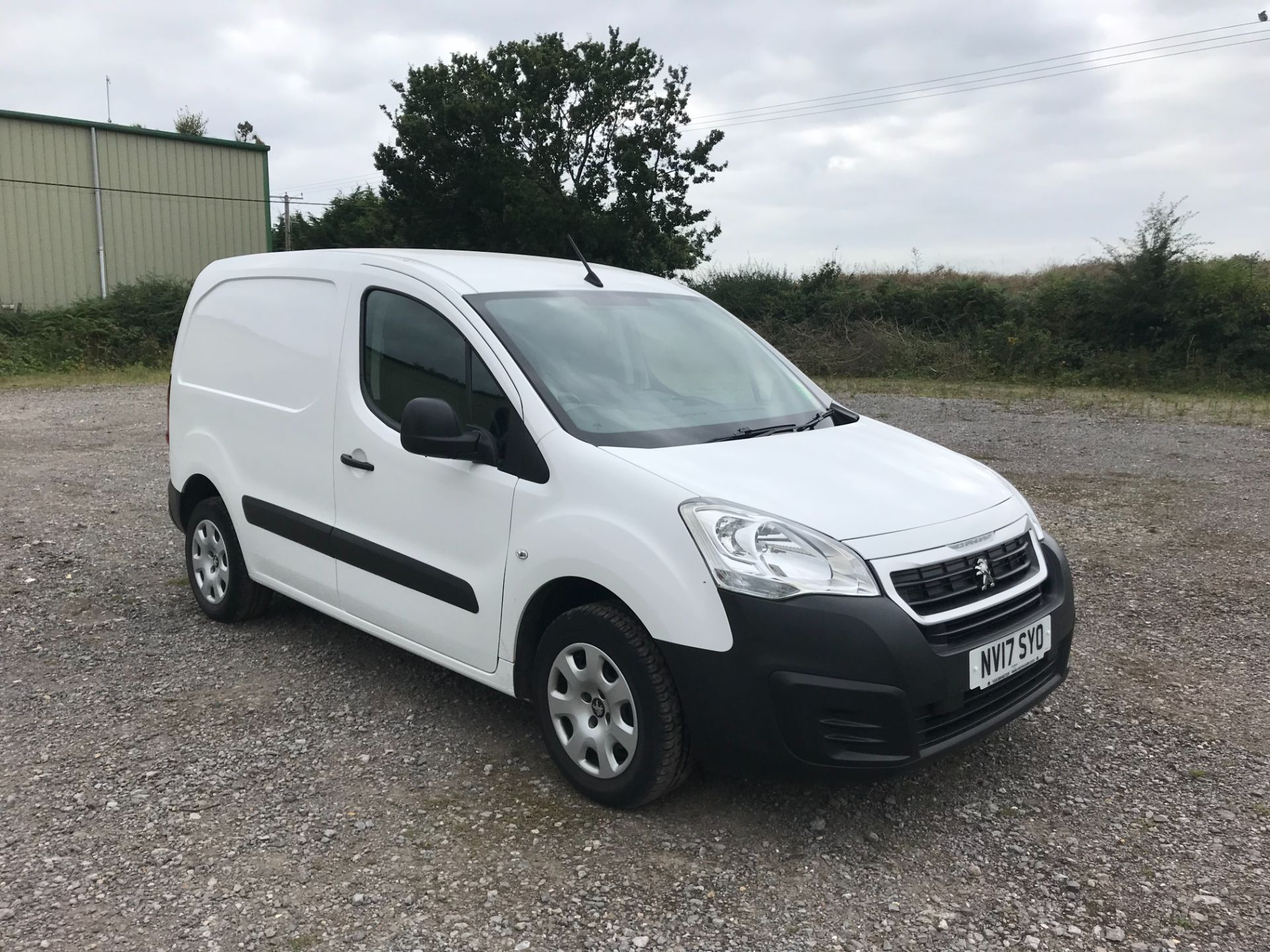 2017 Peugeot Partner L1 850 1.6 BLUEHDI 100 PROFESSIONAL (NON S/S)EURO 6 *Limited to 70MPH* (NV17SYO)