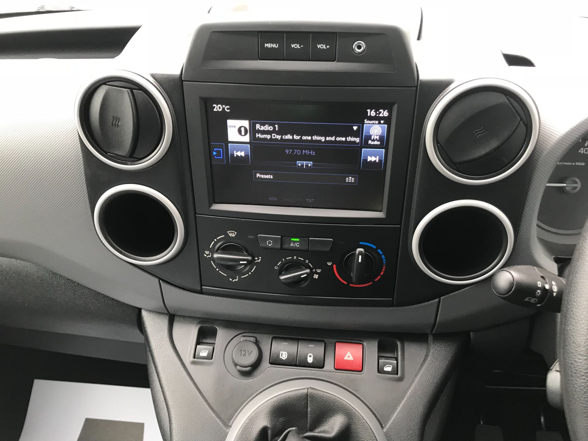 2017 Peugeot Partner L1 850 1.6 BLUEHDI 100 PROFESSIONAL (NON S/S)EURO 6 *Limited to 70MPH* (NV17SYO) Image 20
