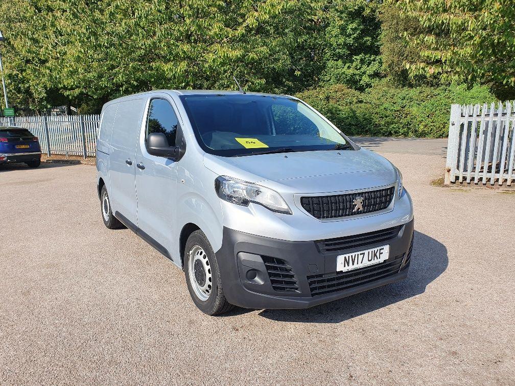 2017 Peugeot Expert 1000 1.6 Bluehdi 95 Professional Van (NV17UKF)