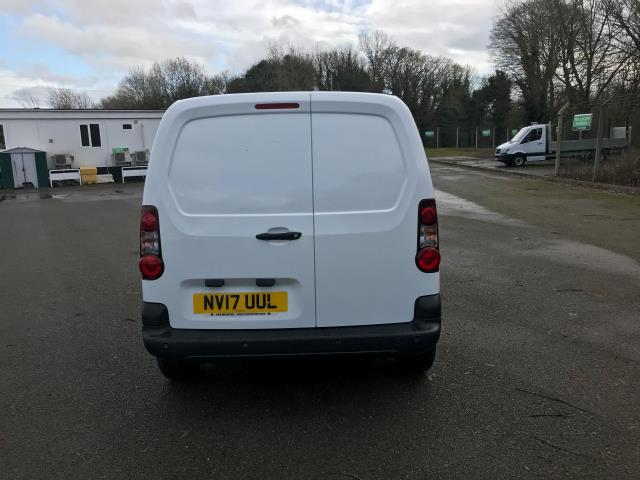 2017 Peugeot Partner 850 1.6 Bluehdi 100 Professional Van [Non Ss] (NV17UUL) Image 7