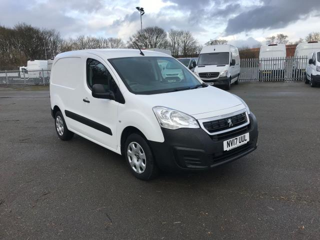 2017 Peugeot Partner 850 1.6 Bluehdi 100 Professional Van [Non Ss] (NV17UUL) Image 1