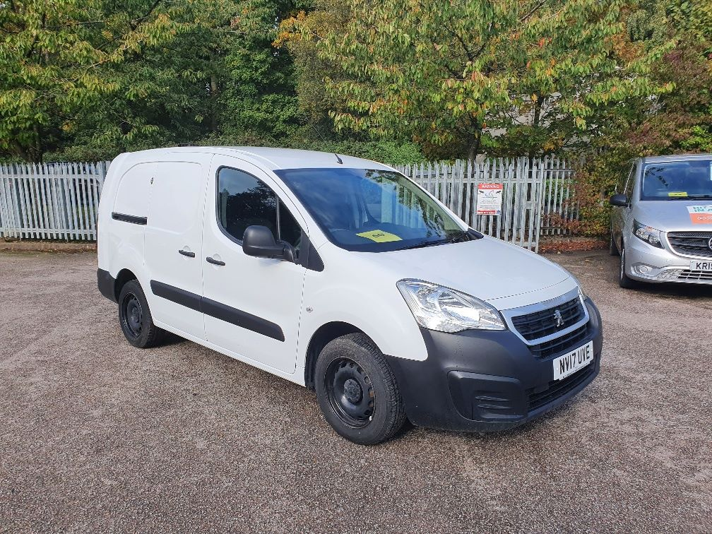 2017 Peugeot Partner 750 S 1.6 Bluehdi 100 Van [Non Start Stop] (NV17UVE)