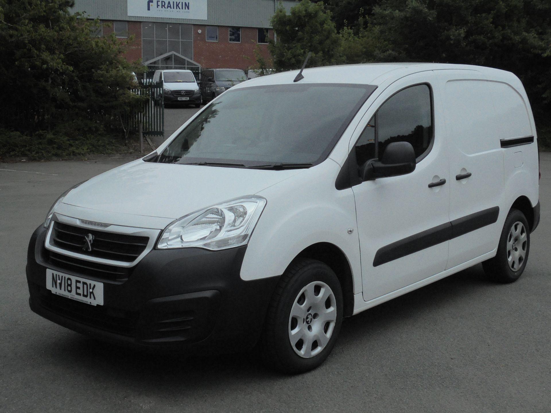 2018 Peugeot Partner 850 1.6 Bluehdi 100 Professional Van [Non Ss] (NV18EDK) Image 3