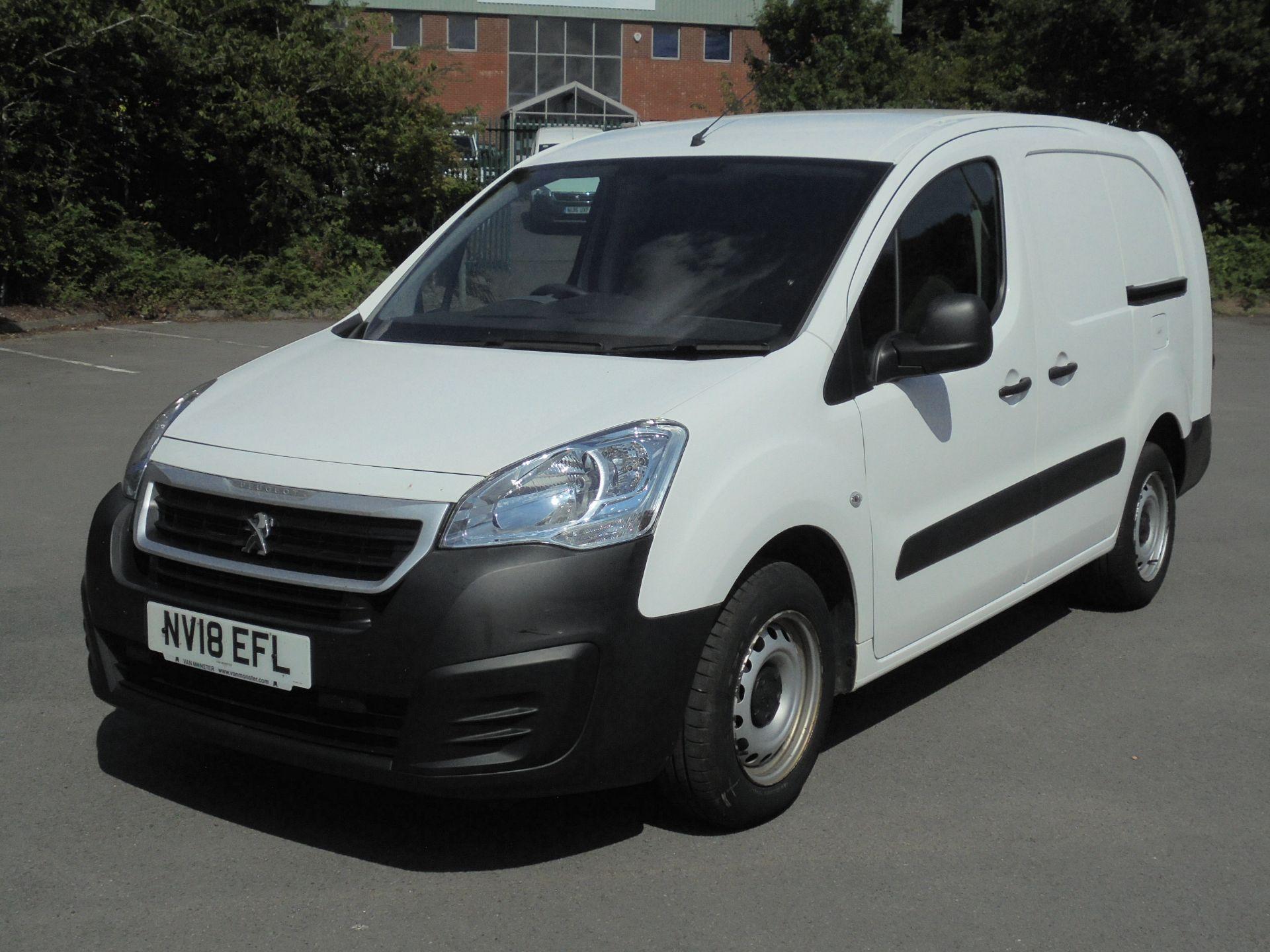 2018 Peugeot Partner 750 S 1.6 Bluehdi 100 Van [Non Start Stop] (NV18EFL) Image 3