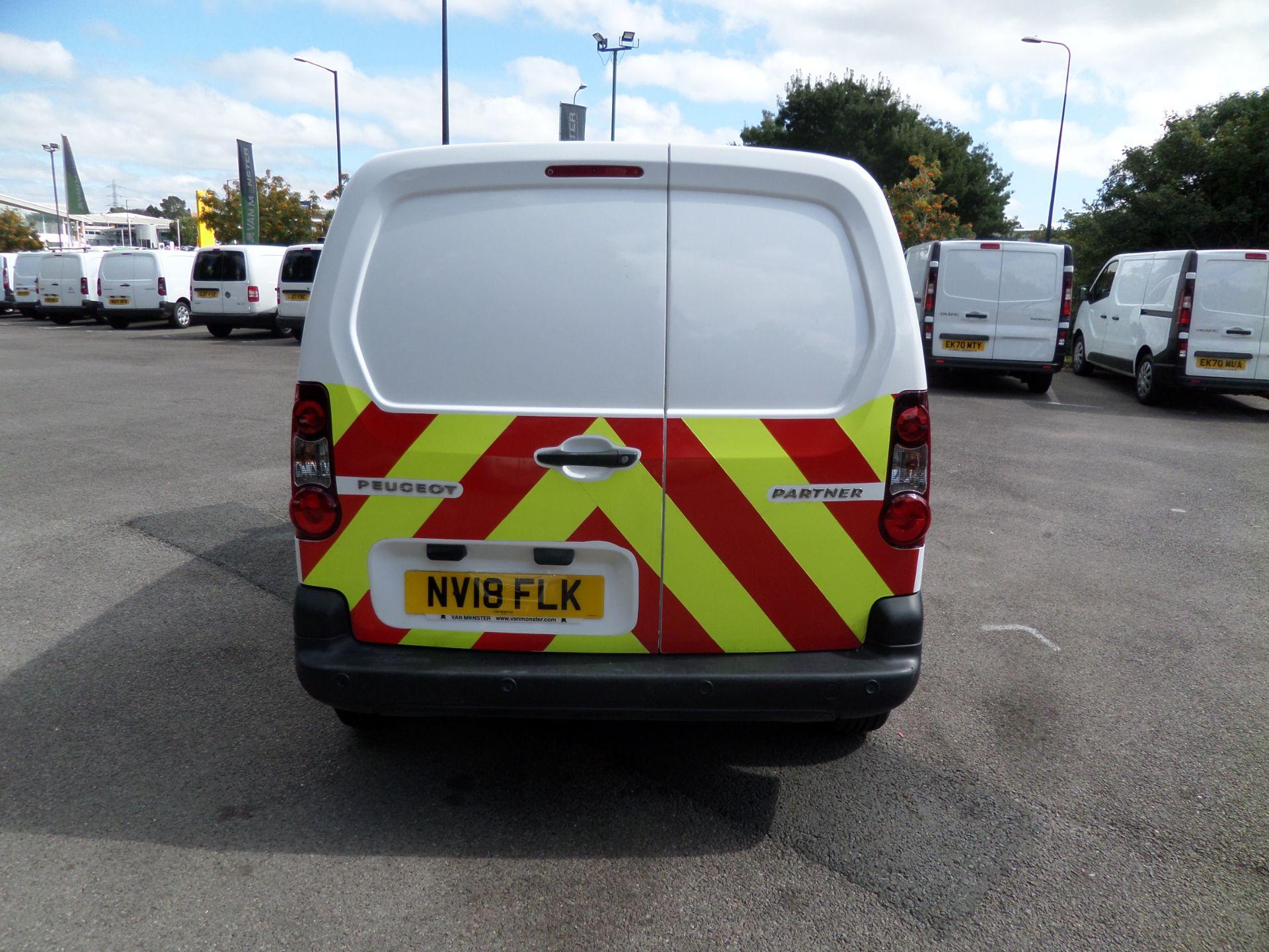 2018 Peugeot Partner 850 1.6 Bluehdi 100 Professional Van [Non Ss] Euro 6 (NV18FLK) Image 3