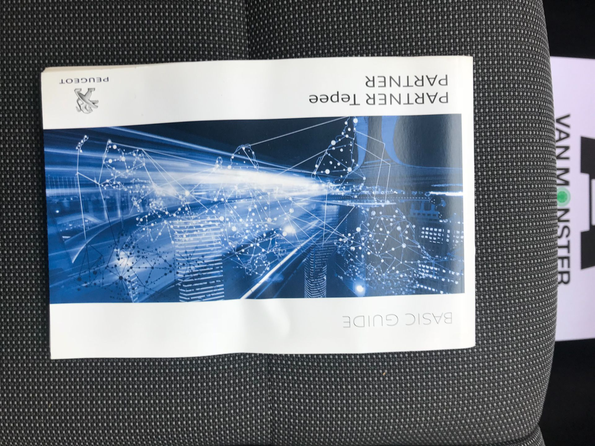 2018 Peugeot Partner 850 1.6 Bluehdi 100 Professional Van [Non Ss] EURO 6 (NV18MWN) Image 42