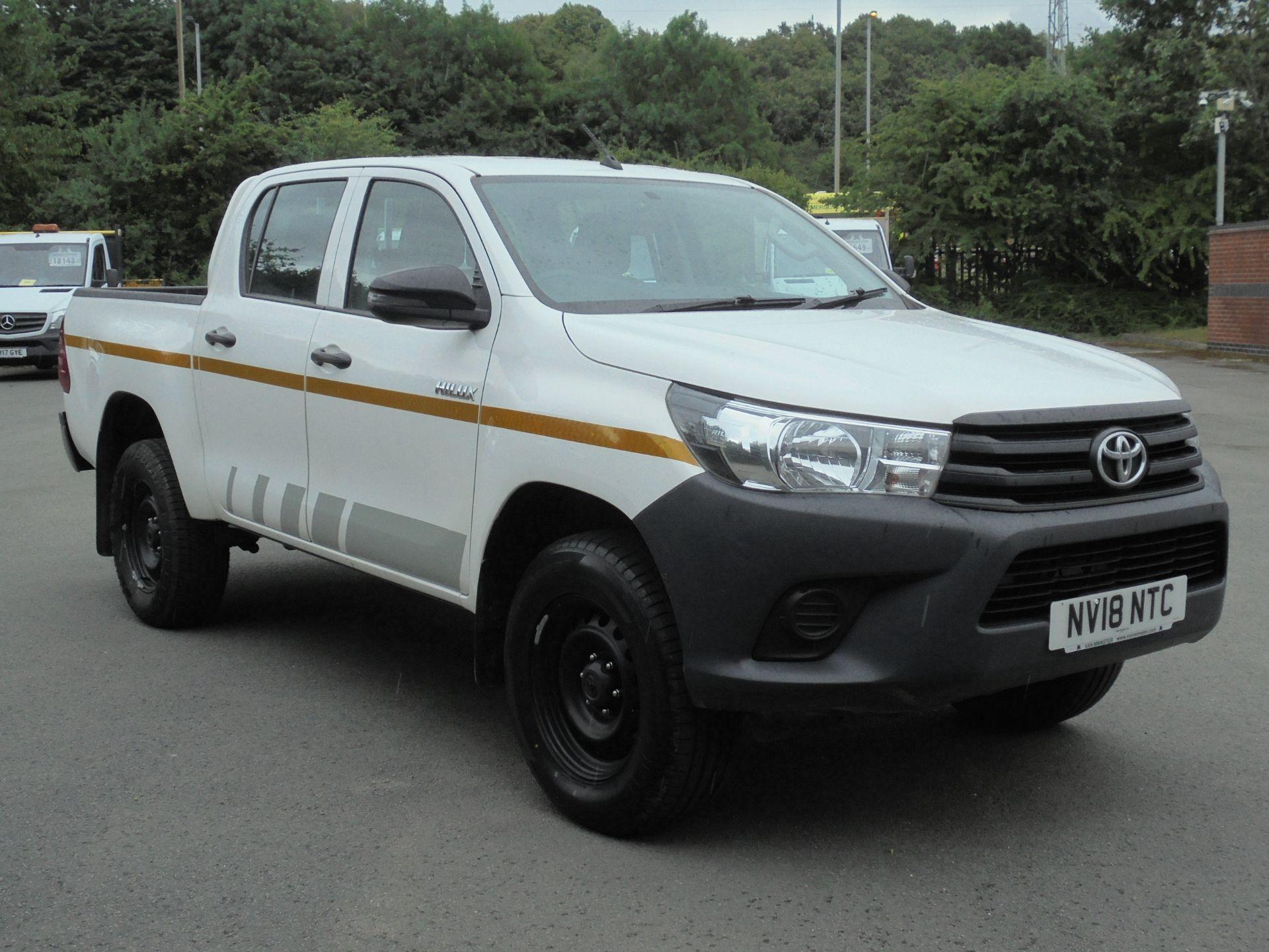 2018 Toyota Hilux Active D/Cab Pick Up 2.5 D-4D 4Wd 144 (NV18NTC)