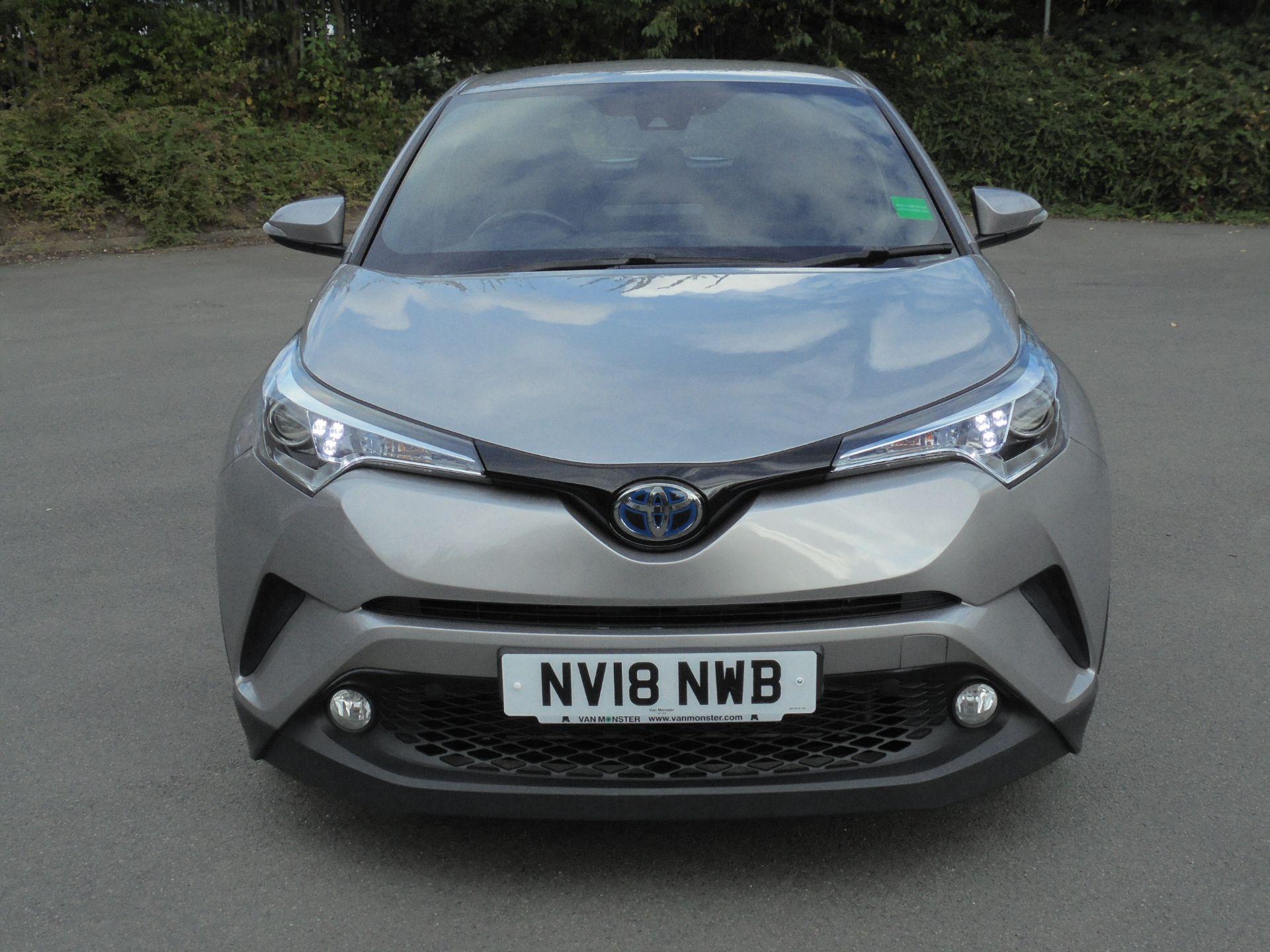 2018 Toyota C-Hr 1.8 Hybrid Icon 5Dr Cvt (NV18NWB) Image 2