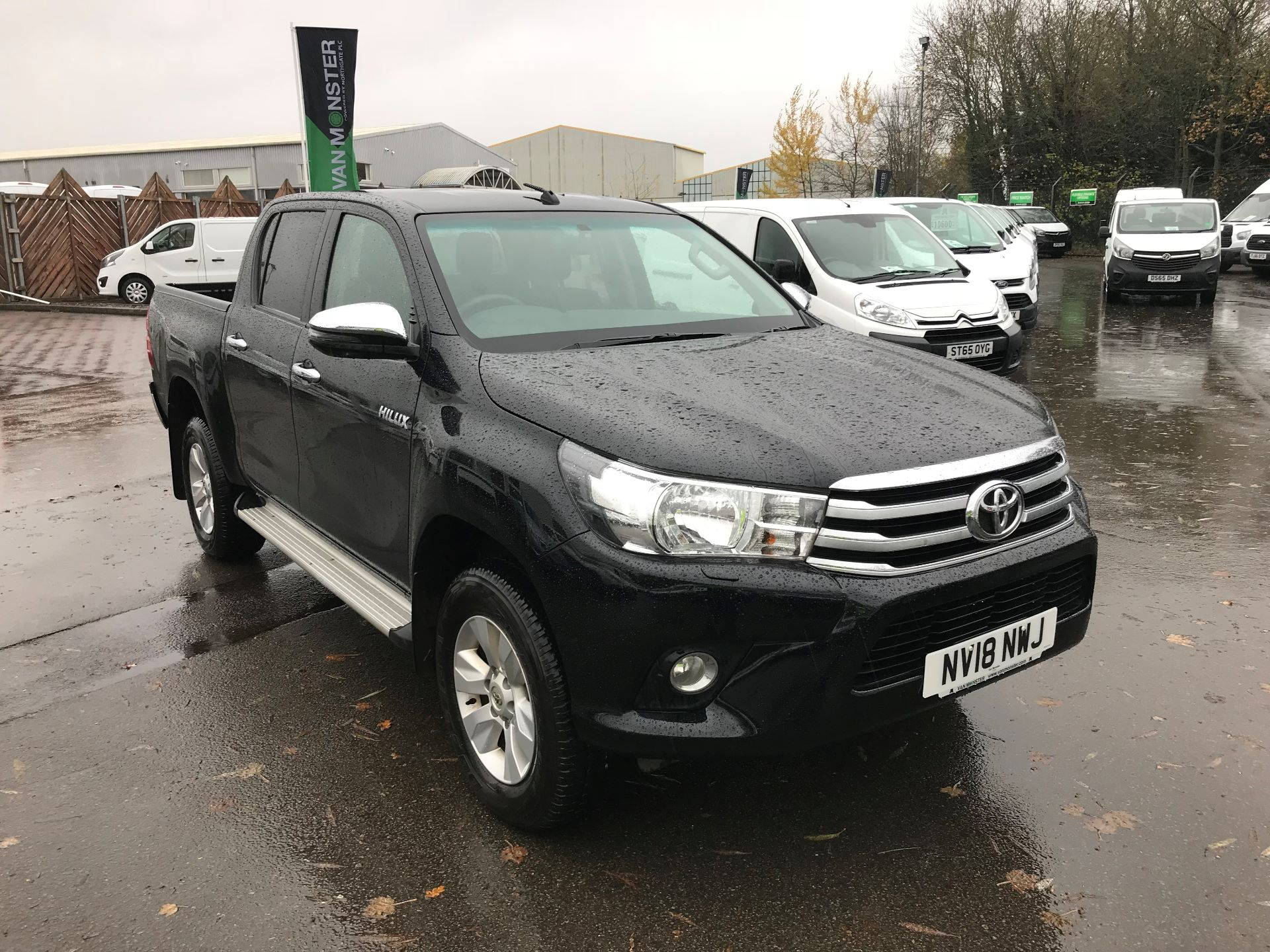 2018 Toyota Hilux ICON D/CAB PICK UP 2.4 D-4D EURO 6 (NV18NWJ)
