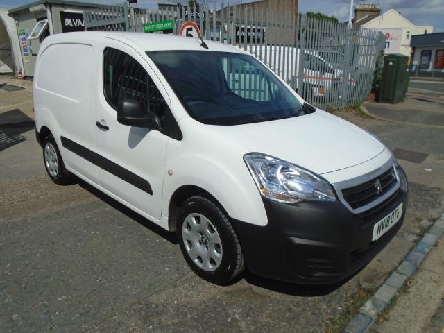 2018 Peugeot Partner 850 1.6 Bluehdi 100 Professional Van [Non Ss] (NV18OTL)