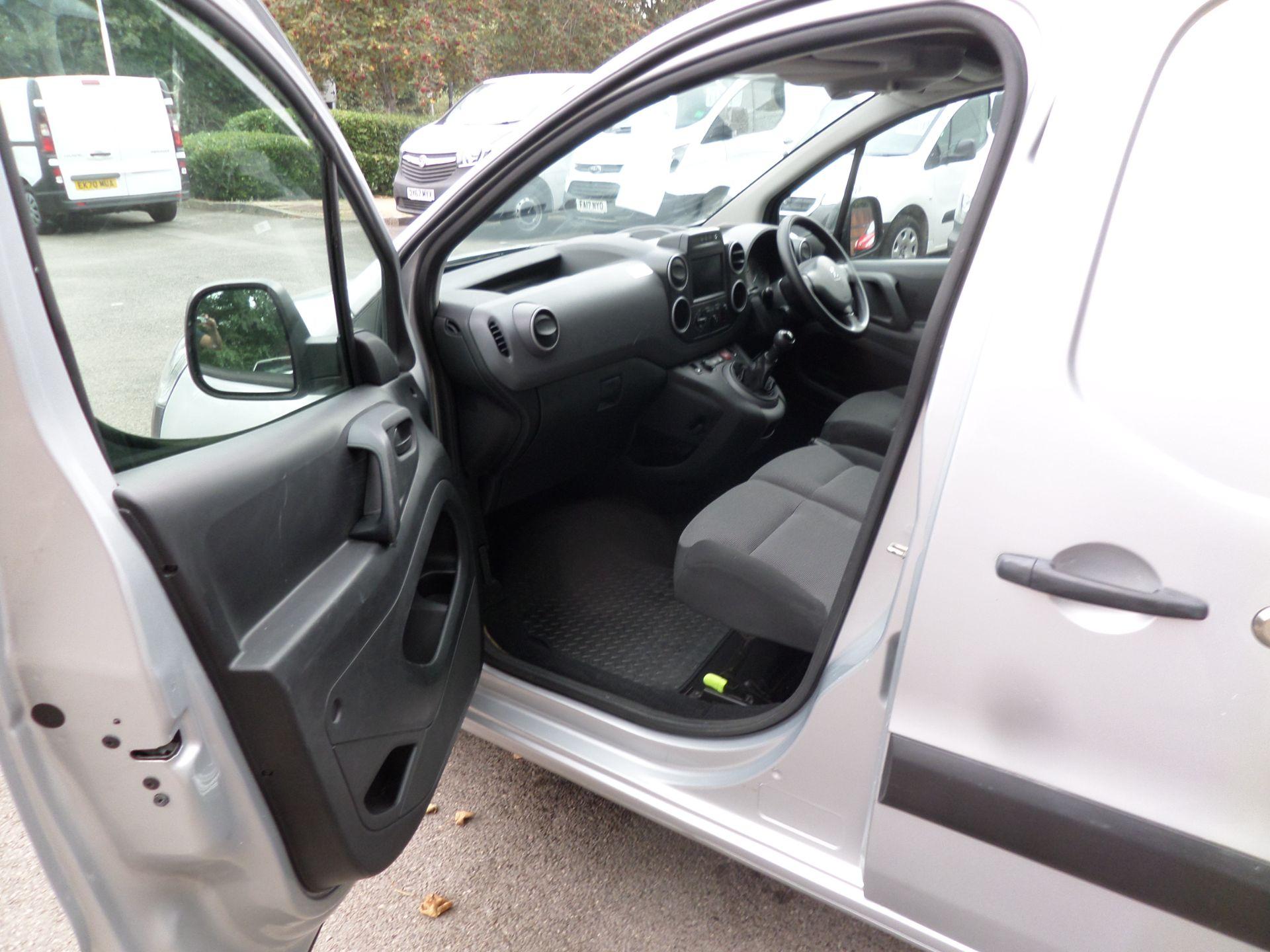 2018 Peugeot Partner 850 1.6 Bluehdi 100 Professional Van [Non Ss] Euro 6 (NV18ZBY) Image 8