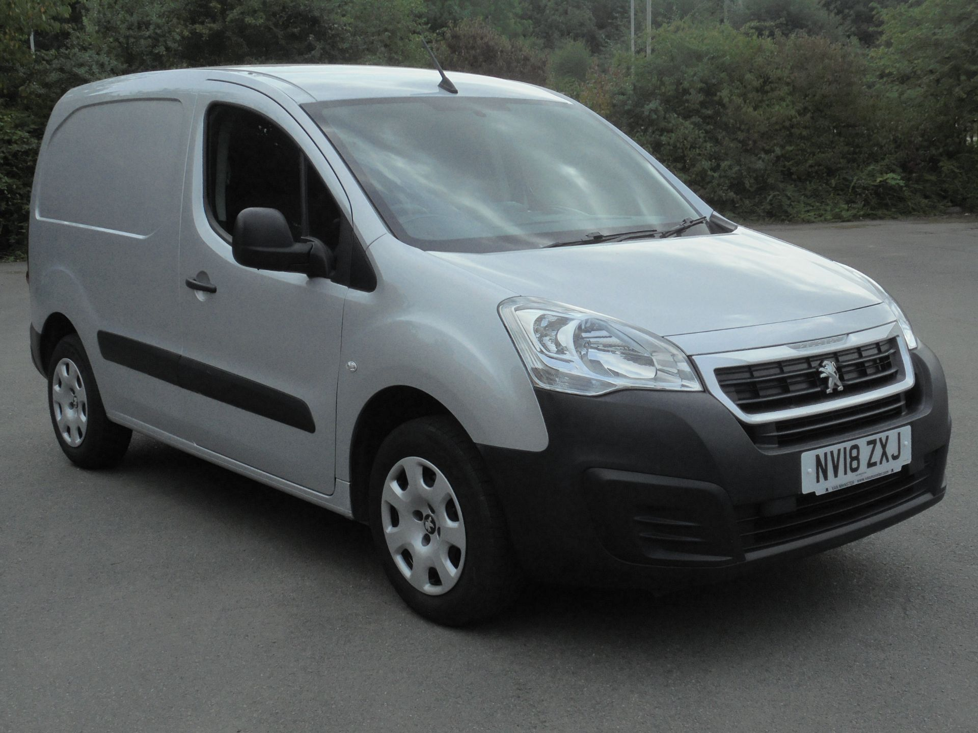 2018 Peugeot Partner 850 1.6 Bluehdi 100 Professional Van (NV18ZXJ)
