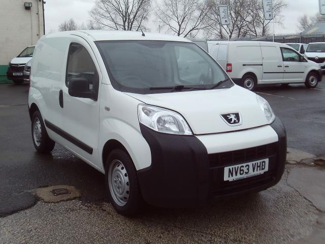 2014 Peugeot Bipper 1.3HDI 75ps Plus Pack (NV63VHD)