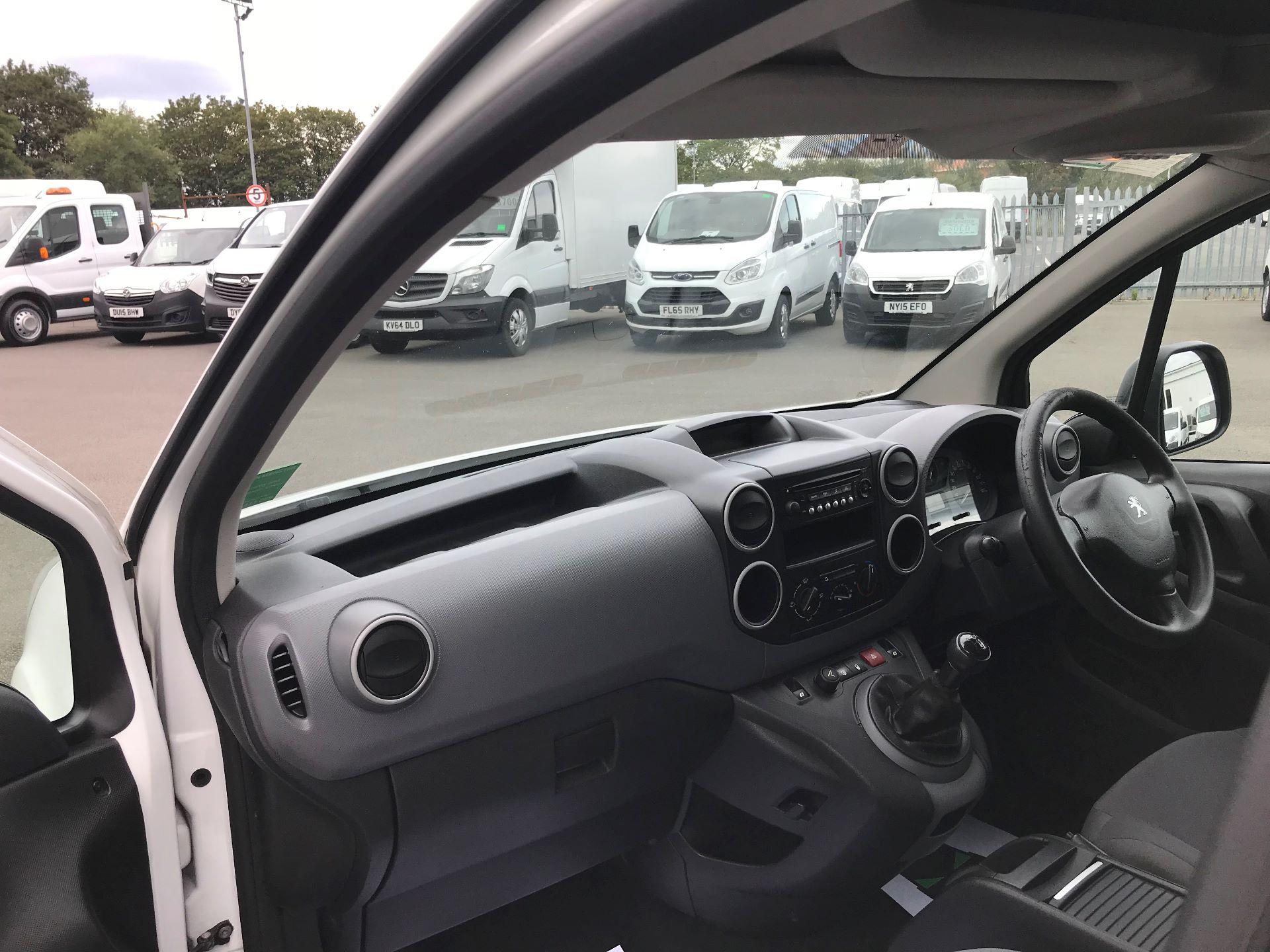 2014 Peugeot Partner L1 850 S 1.6 92PS (SLD) EURO 5 (NV63VJA) Image 17