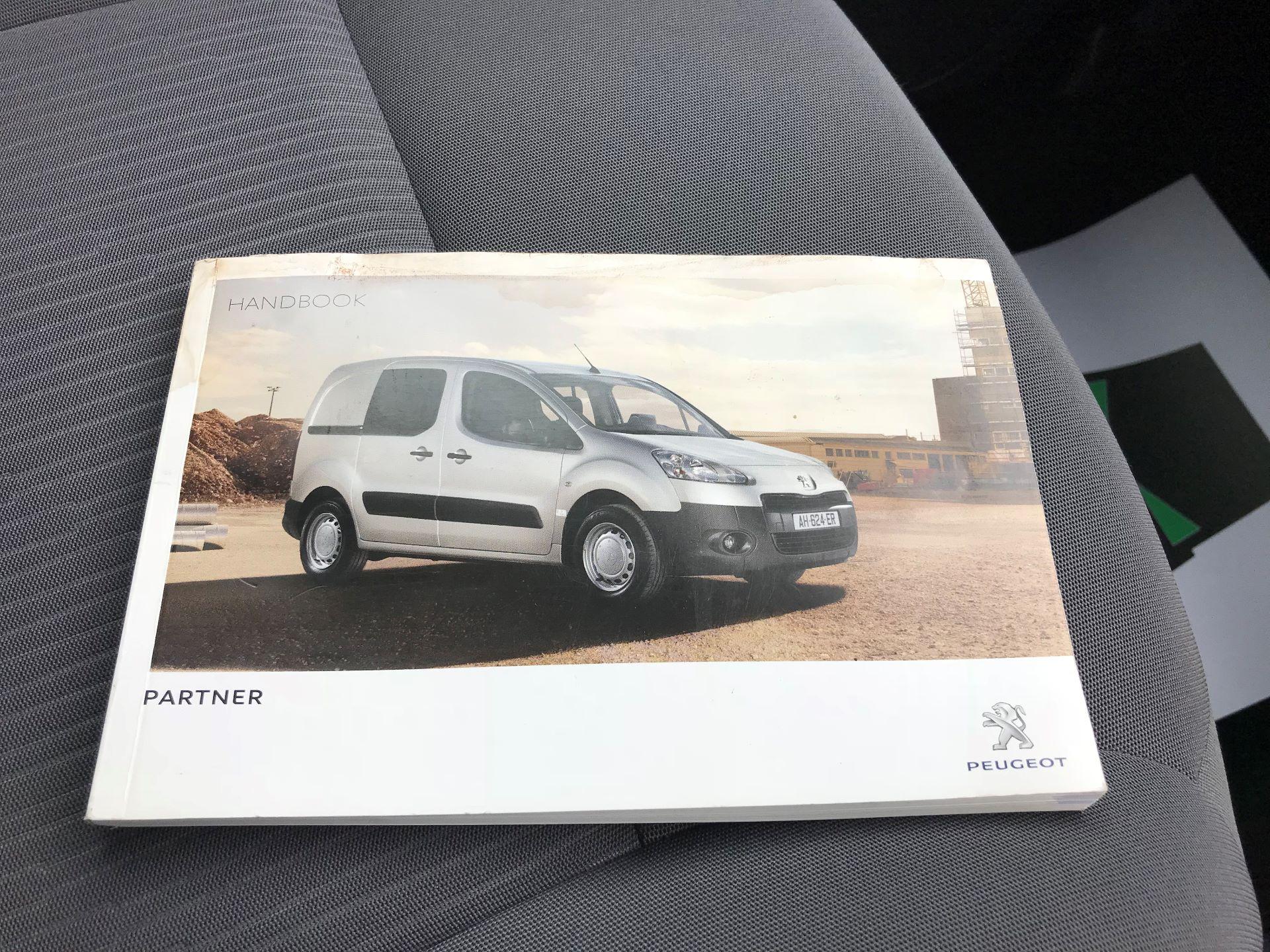 2014 Peugeot Partner L1 850 S 1.6 92PS (SLD) EURO 5 (NV63VJA) Image 25