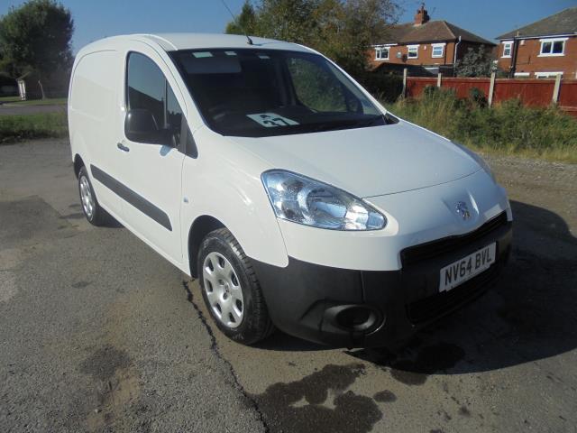 2014 Peugeot Partner 850 S 1.6 Hdi 92 Van [Sld] (NV64BVL)