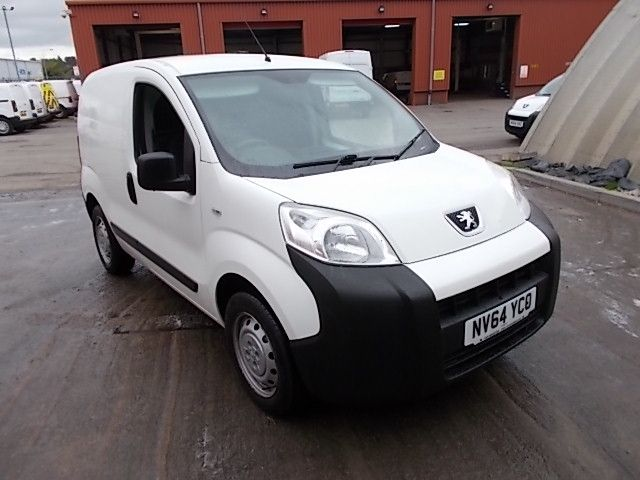 2015 Peugeot Bipper 1.3 HDI 75 S PLUS PACK NON S/S EURO 5 (NV64YCO)