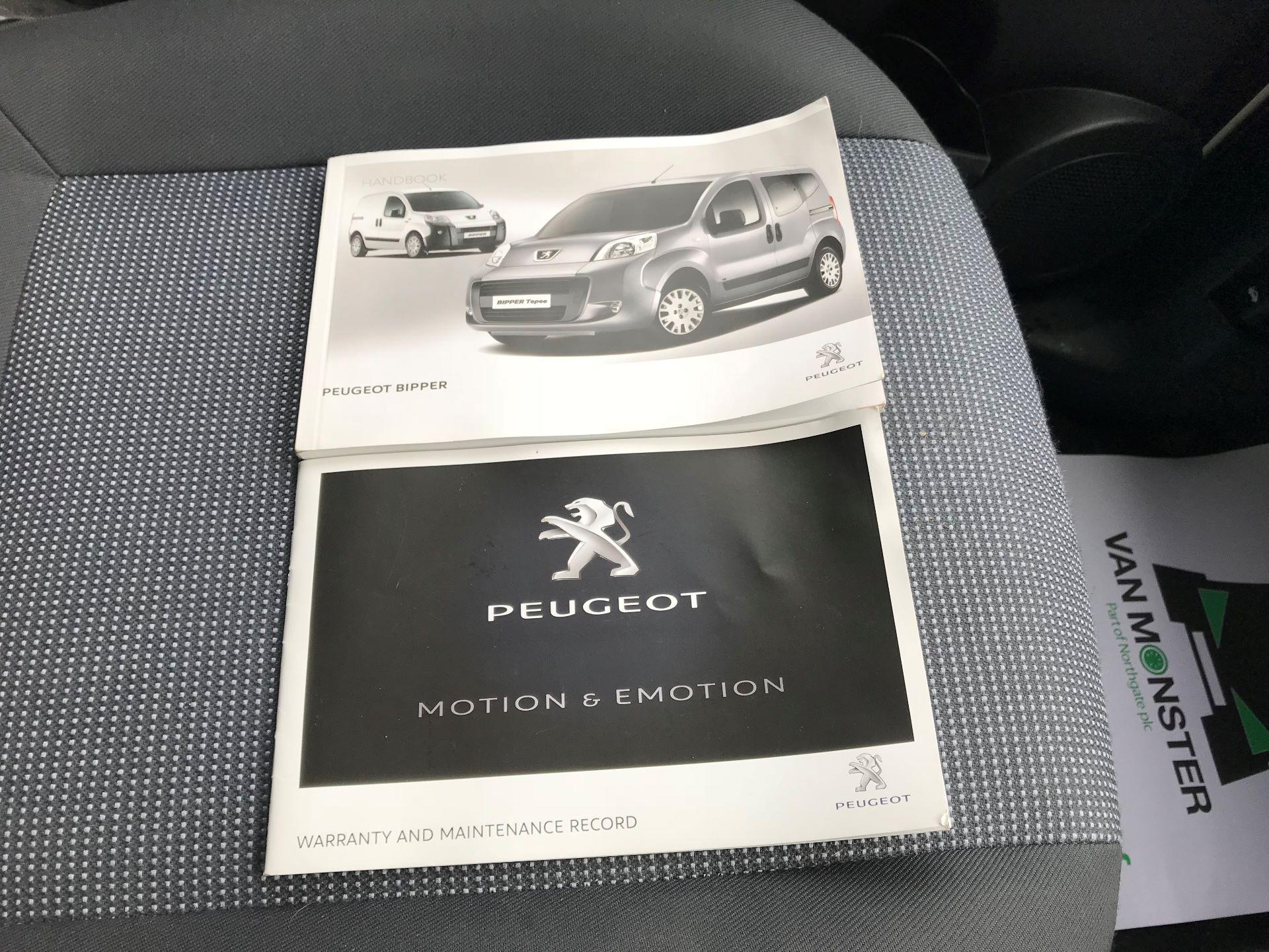 2015 Peugeot Bipper 1.3 Hdi 75 S Plus Pack [Sld] [Non Start/Stop] EURO 5 (NV65GUA) Image 25