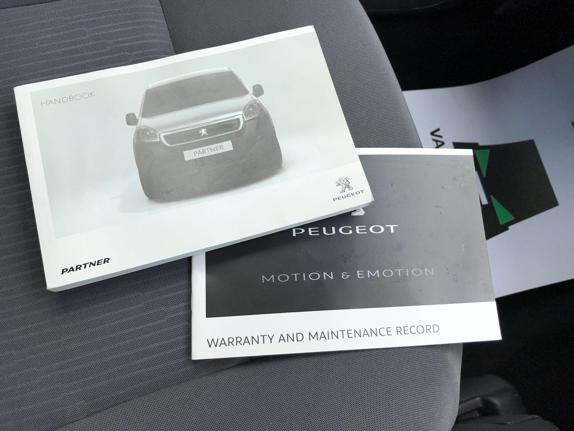 2016 Peugeot Partner L1 850 S 1.6HDI 92PS EURO 5 (NV65MHX) Image 25