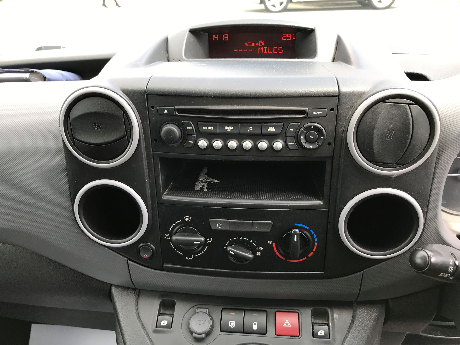 2016 Peugeot Partner L1 850 S 1.6HDI 92PS EURO 5 (NV65MHX) Image 3