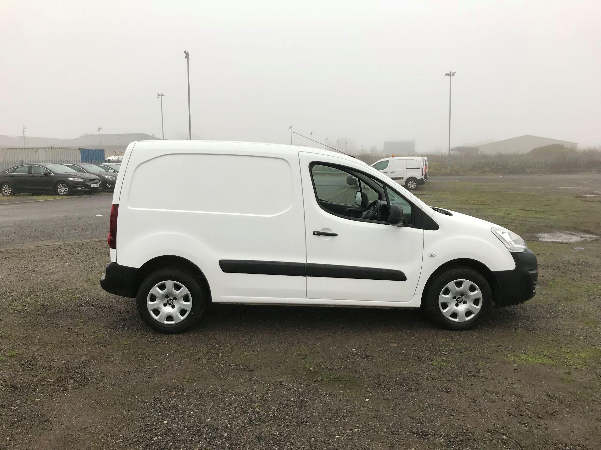 2016 Peugeot Partner 850 S 1.6 Hdi 92 Van [Sld] (NV65NKO) Image 8