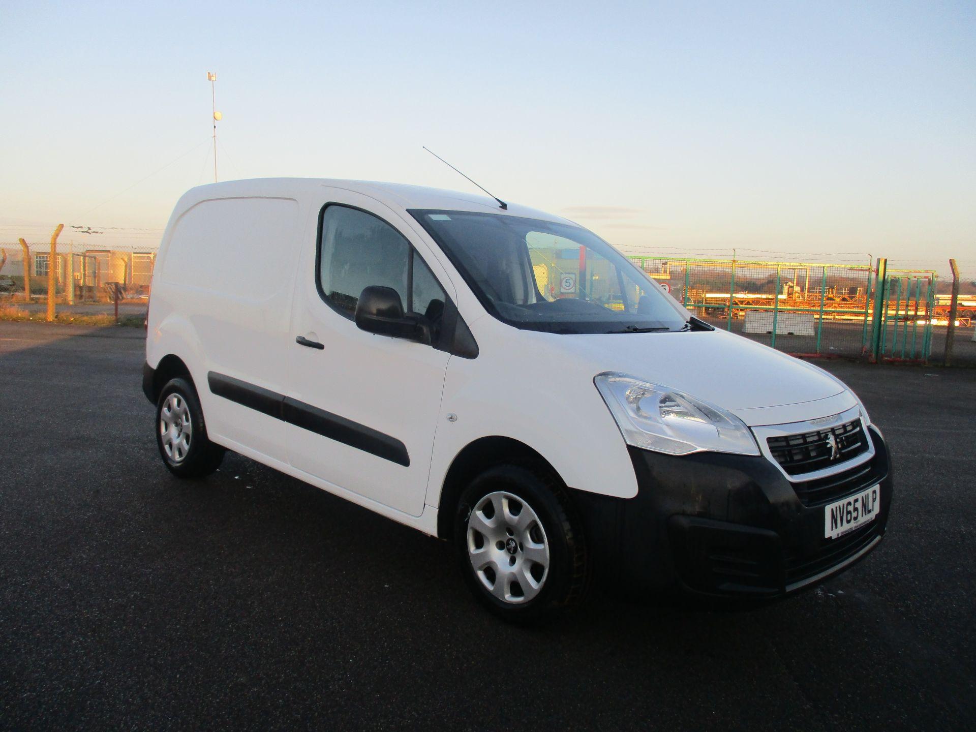 2016 Peugeot Partner L1 850 1.6 92PS EURO 5 (NV65NLP)