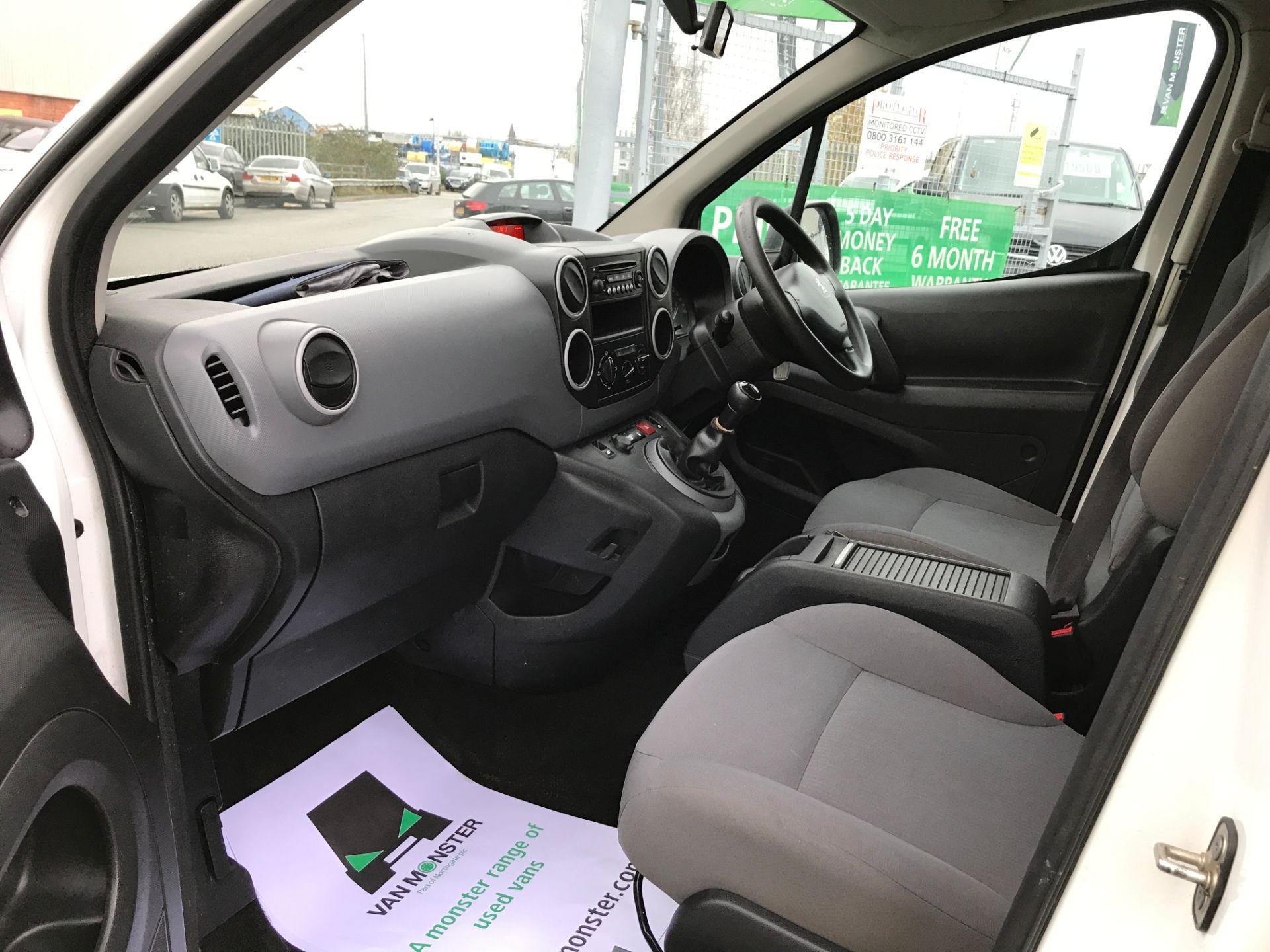 2016 Peugeot Partner 716 L2 S 1.6HDI 92PS CREW VAN EURO 5 (NV65RKN) Image 12