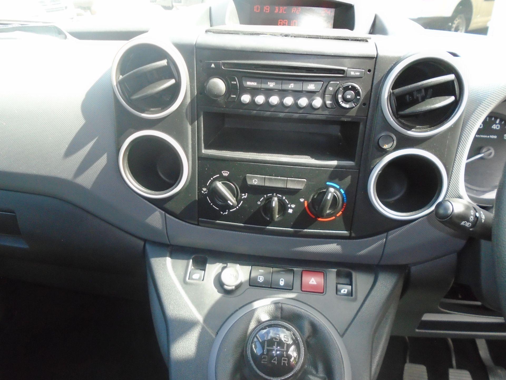 2016 Peugeot Partner 750 S 1.6 Hdi 92 Van L2  (NV65RMY) Image 20