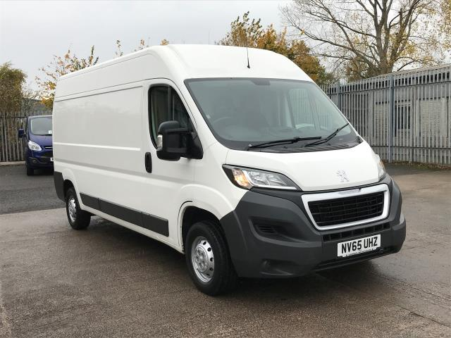 2015 Peugeot Boxer 335 L3 H2 2.2HDI 130PS EURO 5 *VALUE RANGE VEHICLE - CONDITION REFLECTED IN PRICE* (NV65UHZ) Image 1