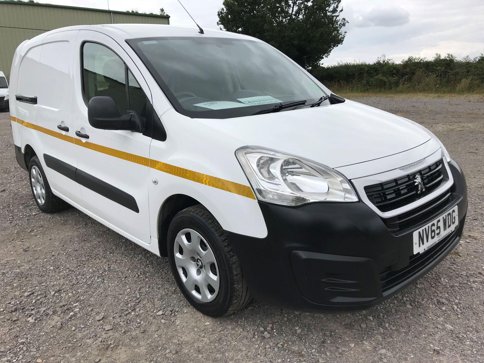 2016 Peugeot Partner L2 716 1.6 92 CREW VAN EURO 5 (NV65WDG)