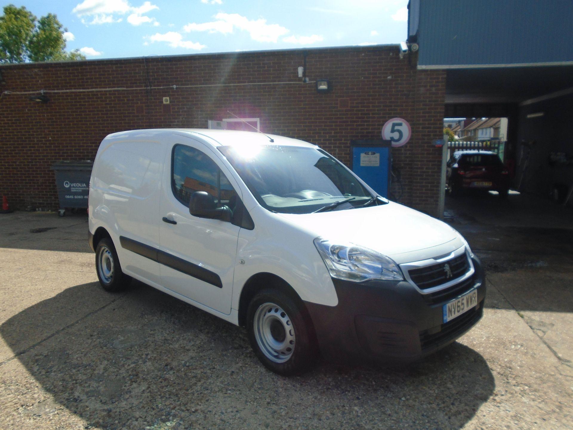 2016 Peugeot Partner 850 S 1.6 Hdi 92 Van [Sld](EURO 5) (NV65WWR)