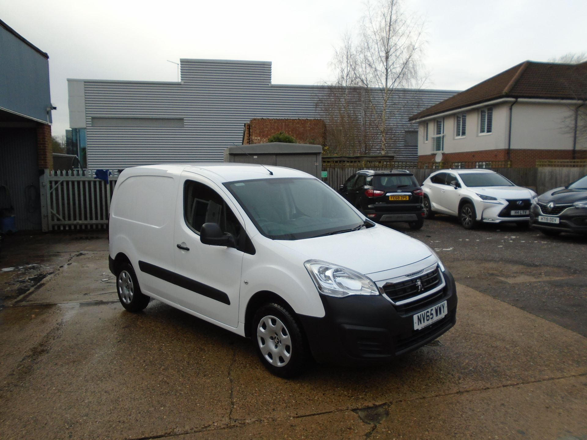 2016 Peugeot Partner 850 S 1.6 Hdi 92 Van [Sld] EURO 5 (NV65WWY)