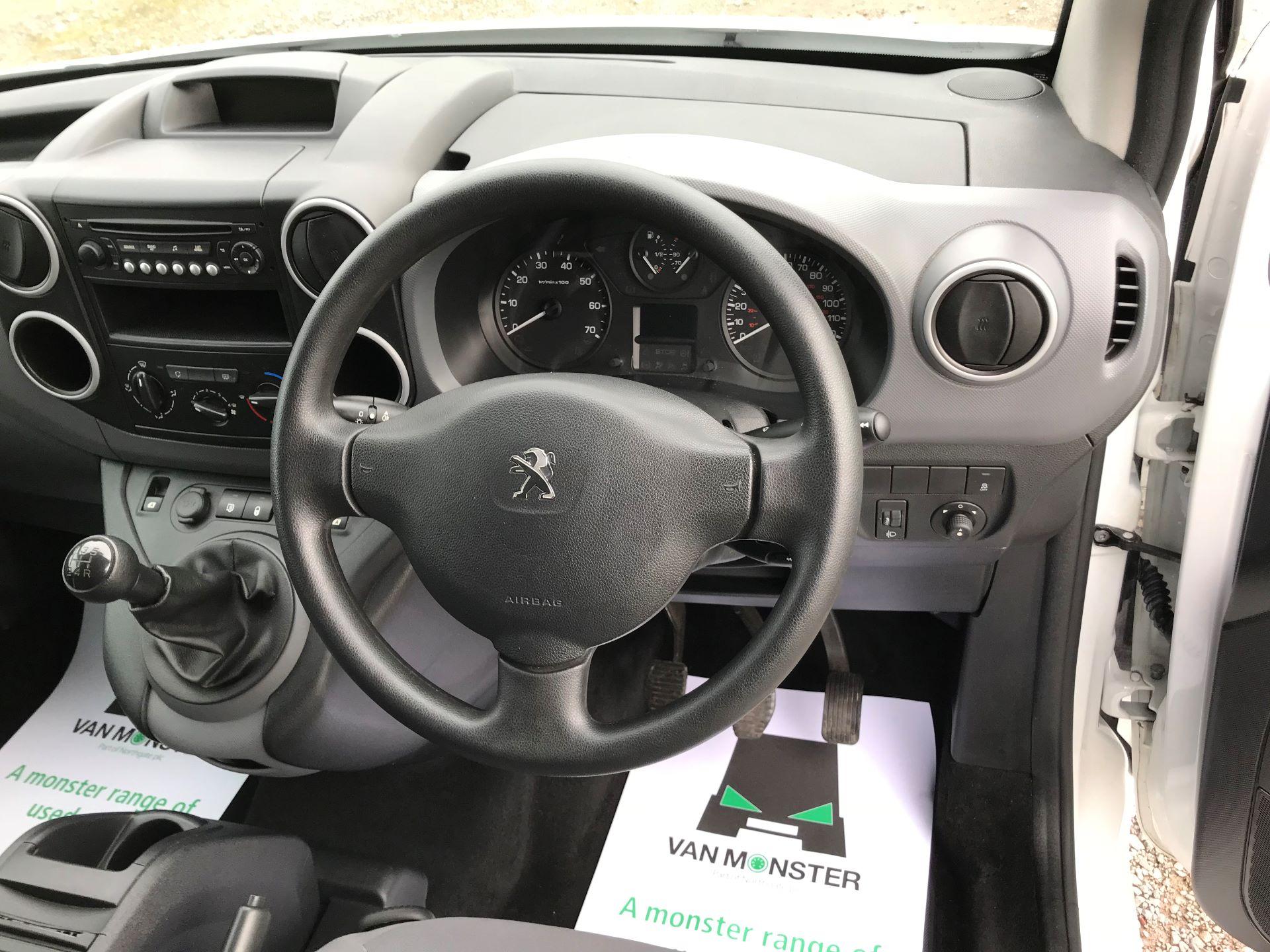 2016 Peugeot Partner L2 715 S 1.6 92PS CREW VAN EURO 5 (NV65WYK) Image 27