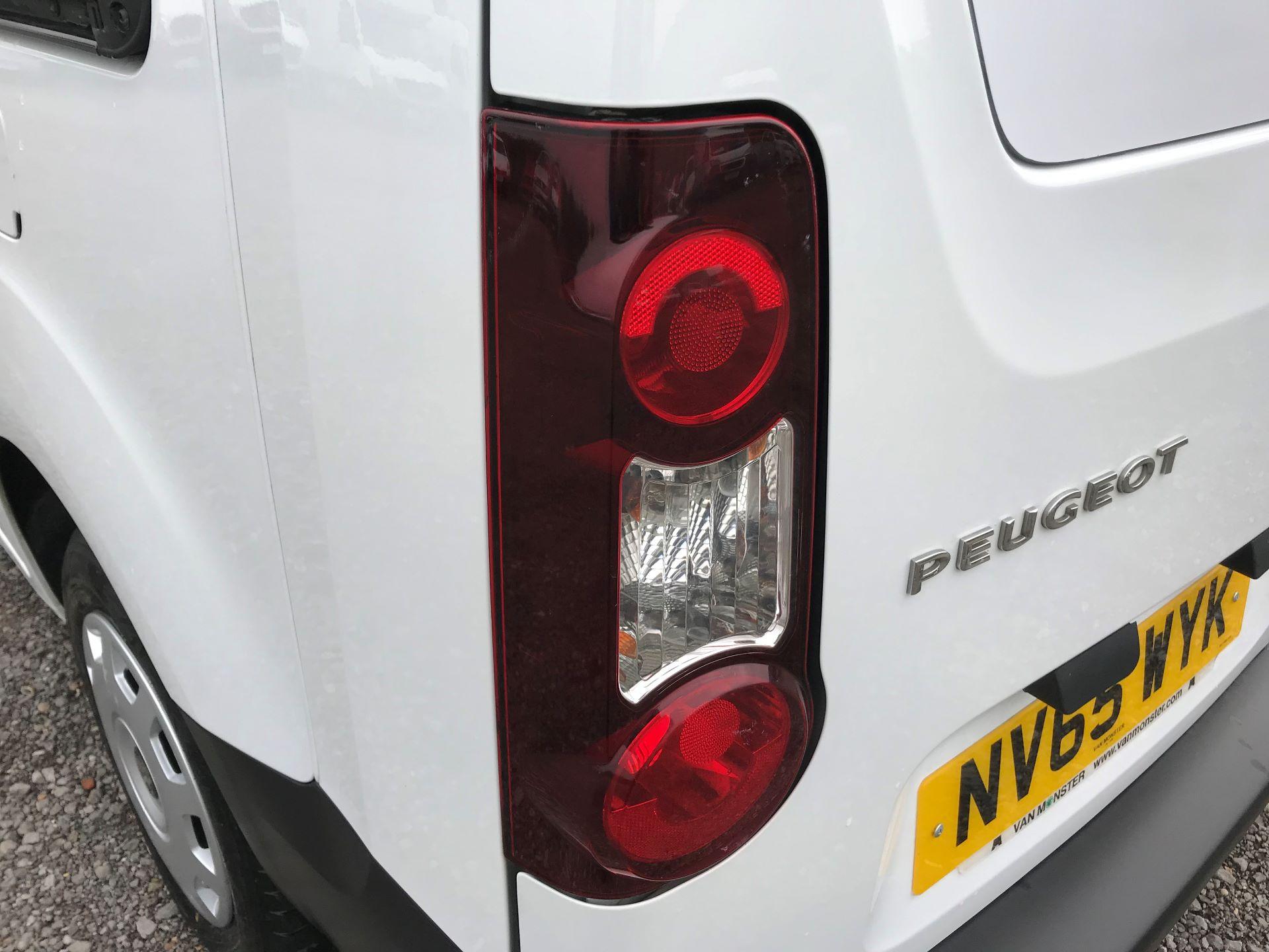2016 Peugeot Partner L2 715 S 1.6 92PS CREW VAN EURO 5 (NV65WYK) Image 15
