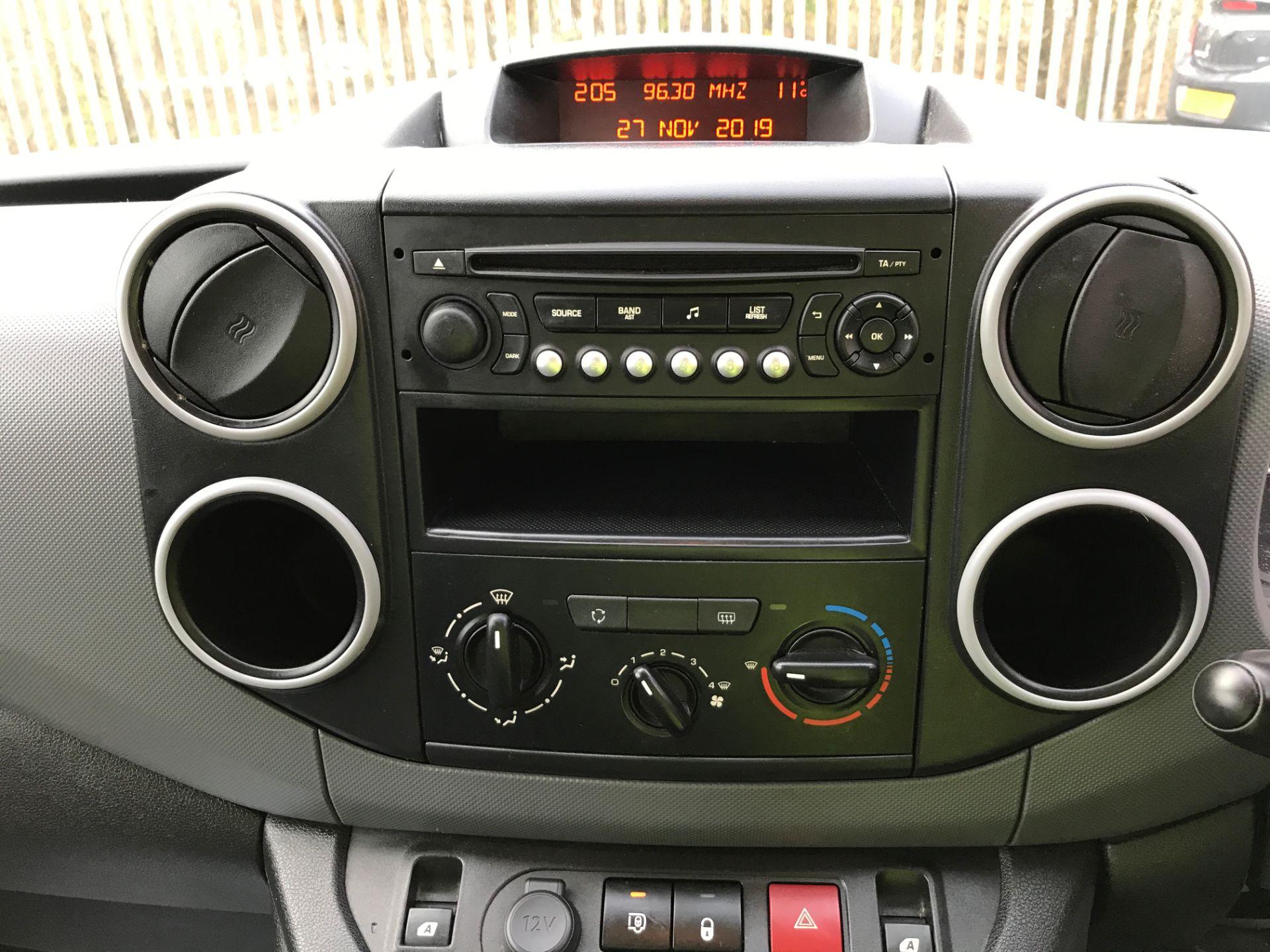 2016 Peugeot Partner 715 L2 S 1.6HDI 92PS CREW VAN EURO 5 (NV65YAO) Image 3