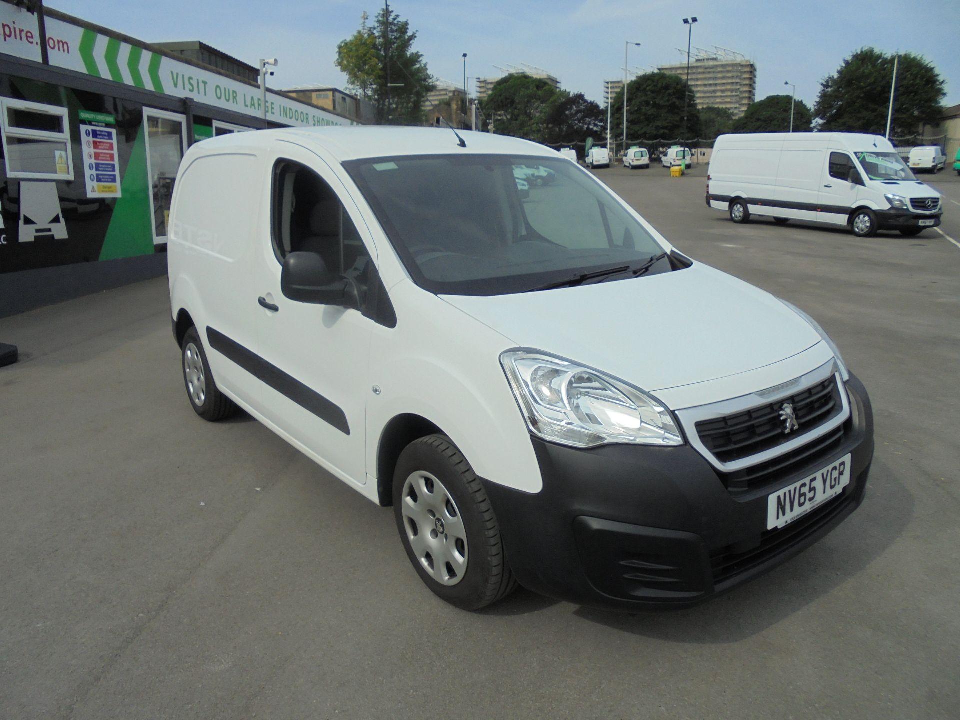 2016 Peugeot Partner 850 S 1.6 Hdi 92 Van [Sld] (NV65YGP)