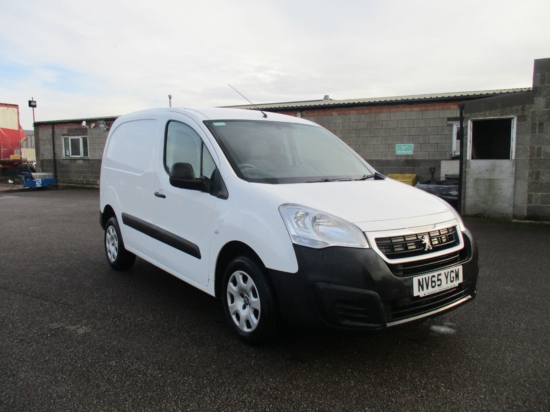 2016 Peugeot Partner L1 850 S 1.6 92PS (SLD) EURO 5 (NV65YGW)