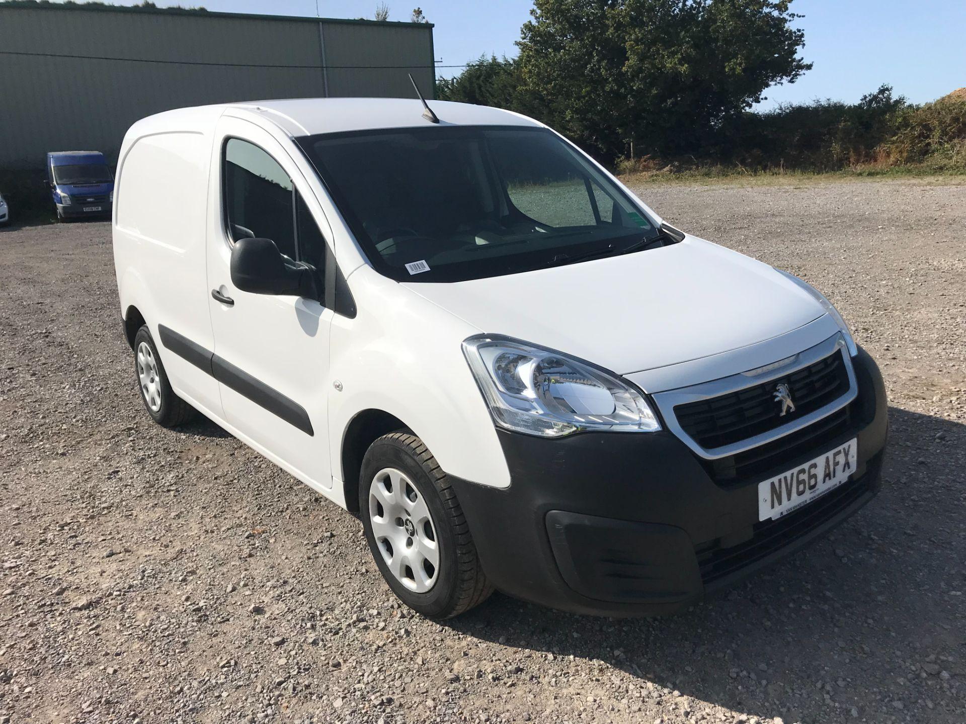 2016 Peugeot Partner 850 1.6 Bluehdi 100 Professional Van [Non Ss] (NV66AFX)