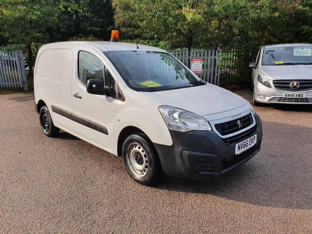 2016 Peugeot Partner 850 S 1.6 Hdi 92 Van [Sld] (NV66EKP)