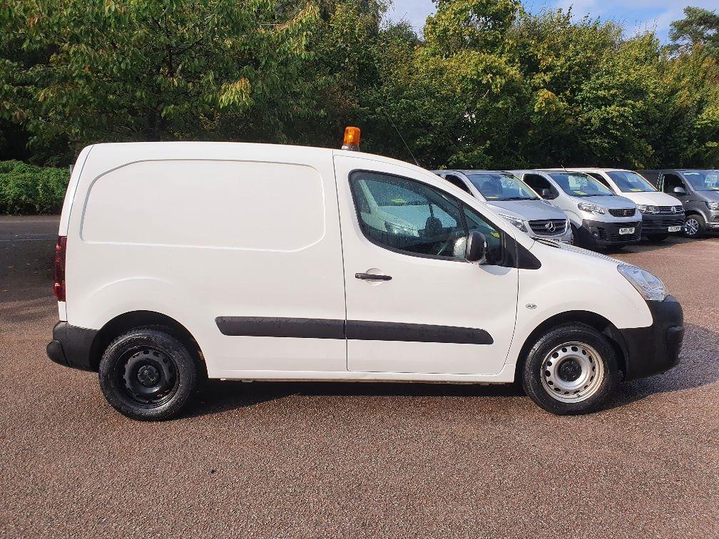 2016 Peugeot Partner 850 S 1.6 Hdi 92 Van [Sld] (NV66EKP) Image 4