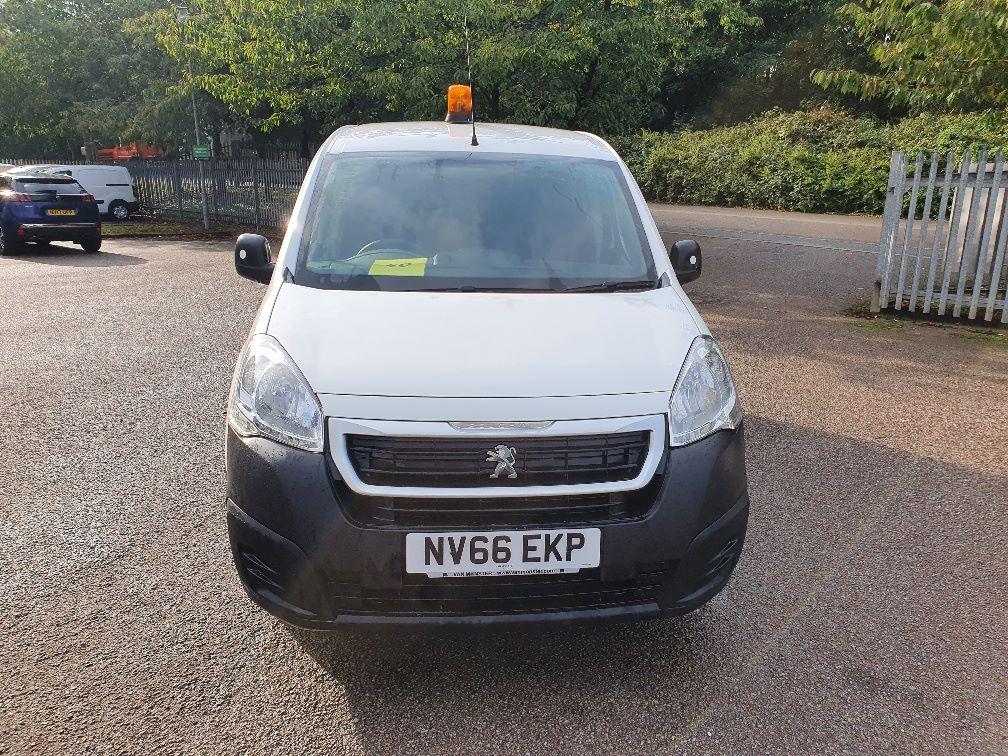 2016 Peugeot Partner 850 S 1.6 Hdi 92 Van [Sld] (NV66EKP) Image 2