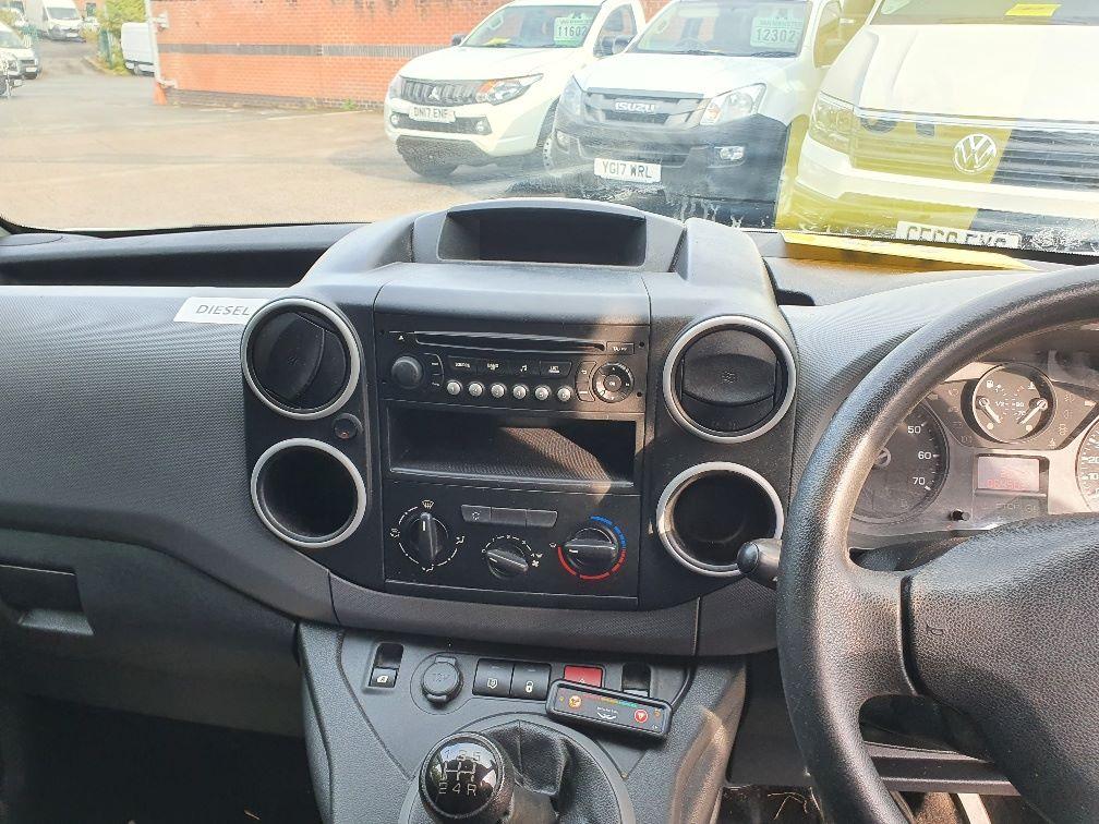 2016 Peugeot Partner 850 S 1.6 Hdi 92 Van [Sld] (NV66EKP) Image 8
