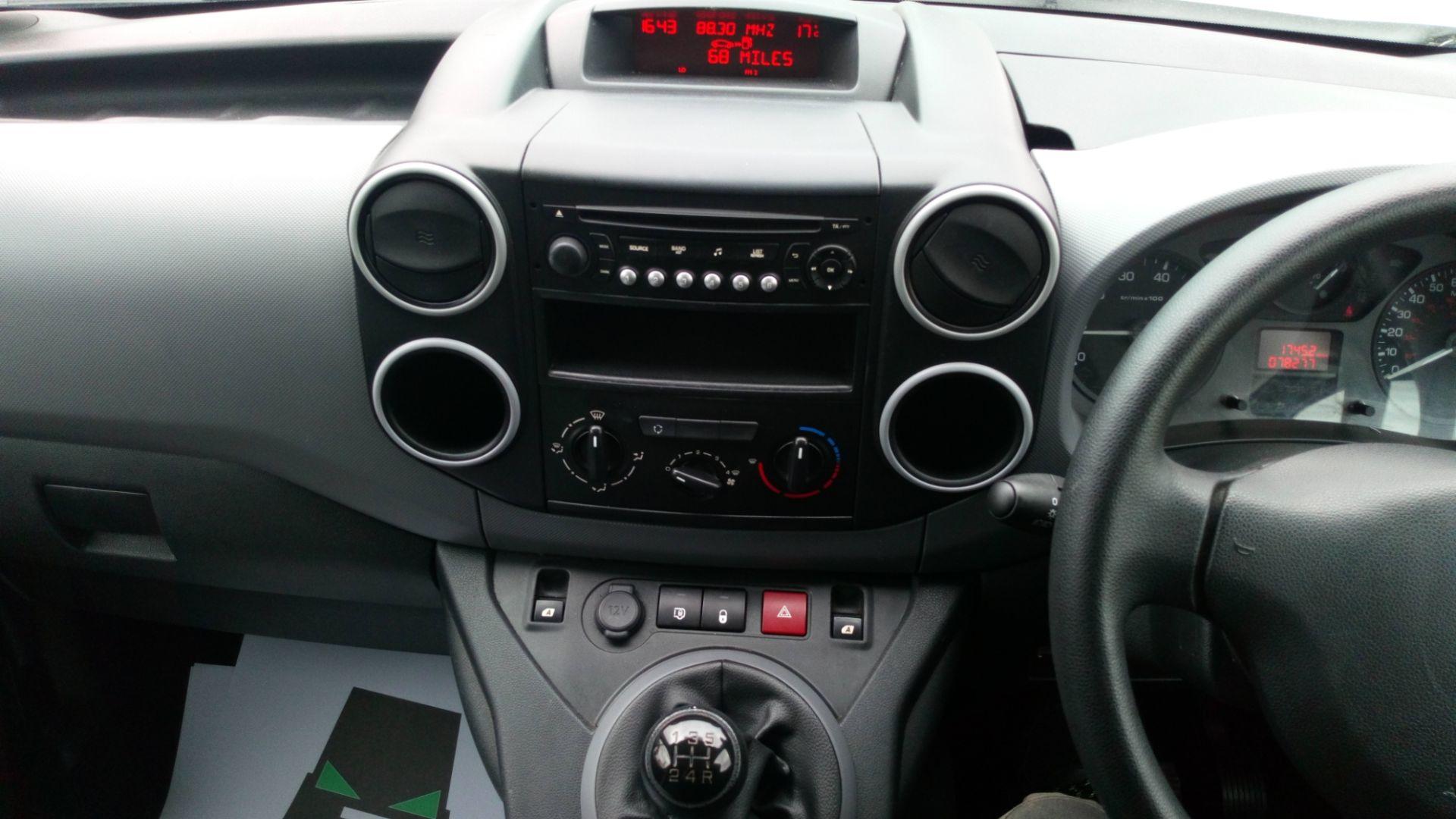 2016 Peugeot Partner 850 S 1.6 Bluehdi 100 Van [Sld] (NV66EKU) Image 13