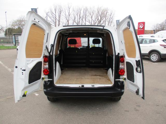 2016 Peugeot Partner 850 S 1.6 Bluehdi 100 Van [Sld] (NV66ELO) Image 12