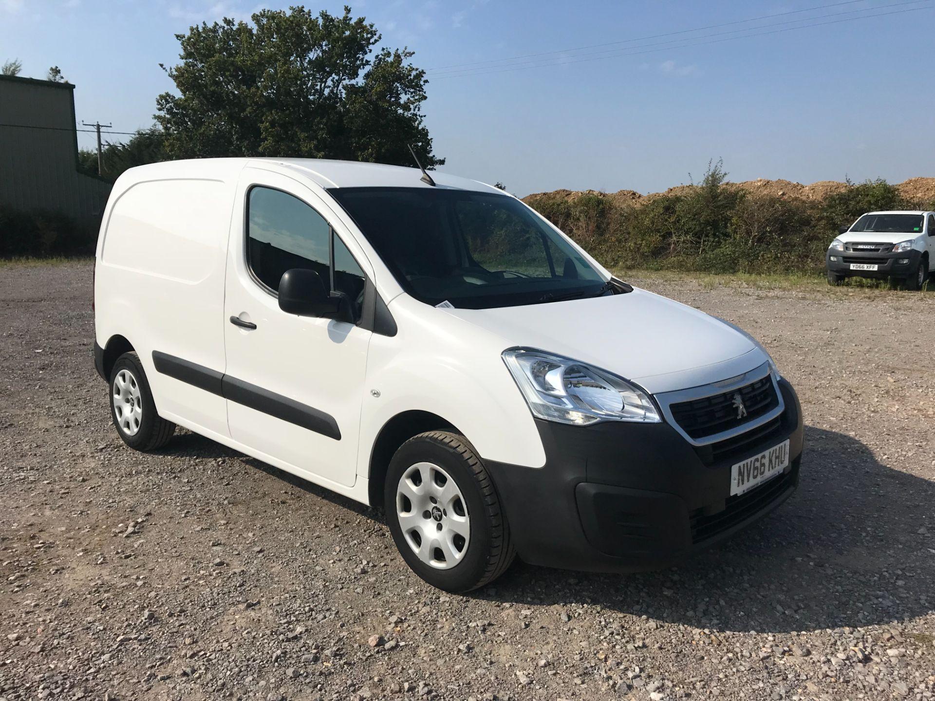 2016 Peugeot Partner 850 1.6 Bluehdi 100 Professional Van [Non Ss] (NV66KHU)