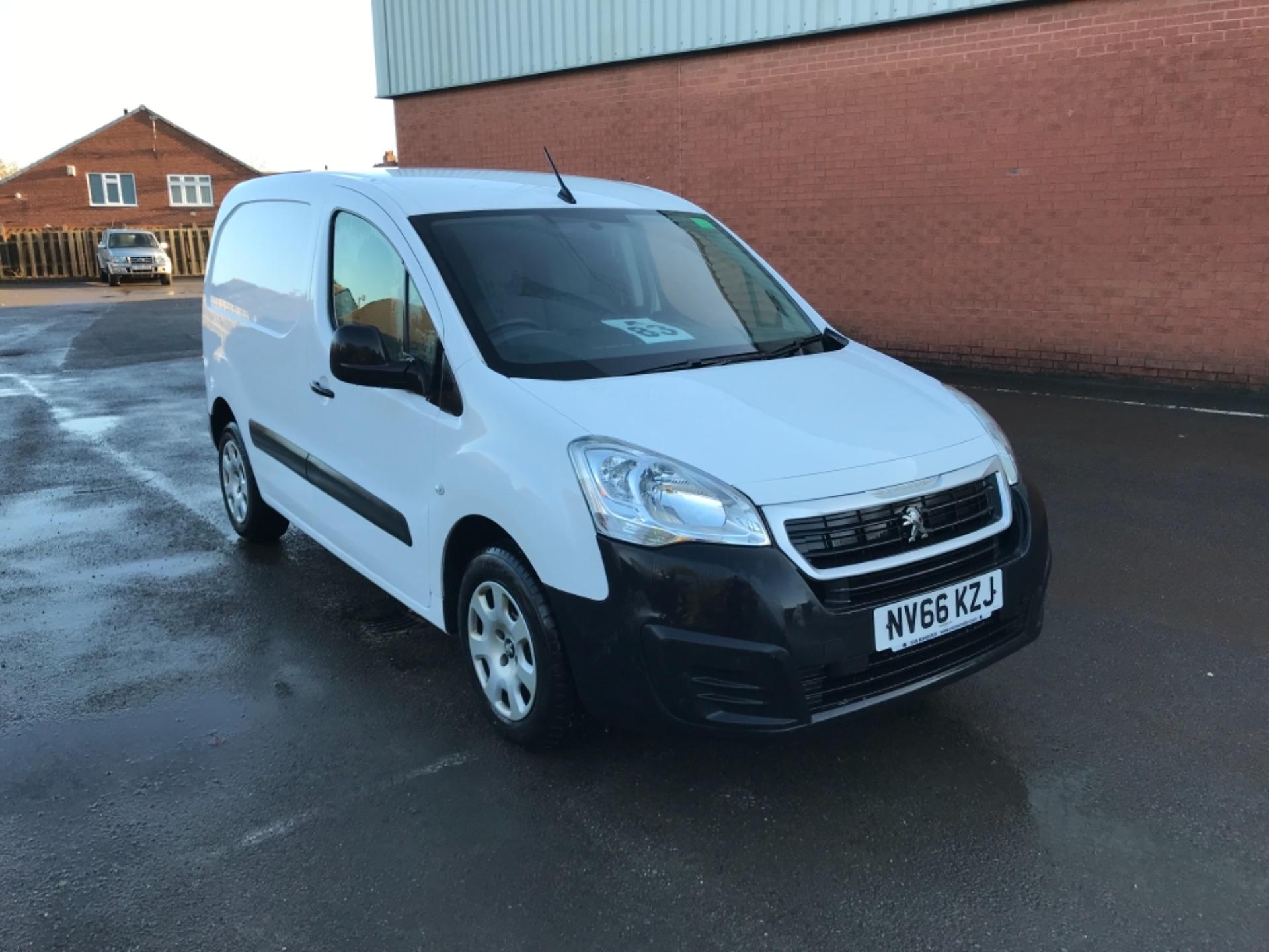 2016 Peugeot Partner 850 1.6 Bluehdi 100 Professional Van [Non Ss] (NV66KZJ)