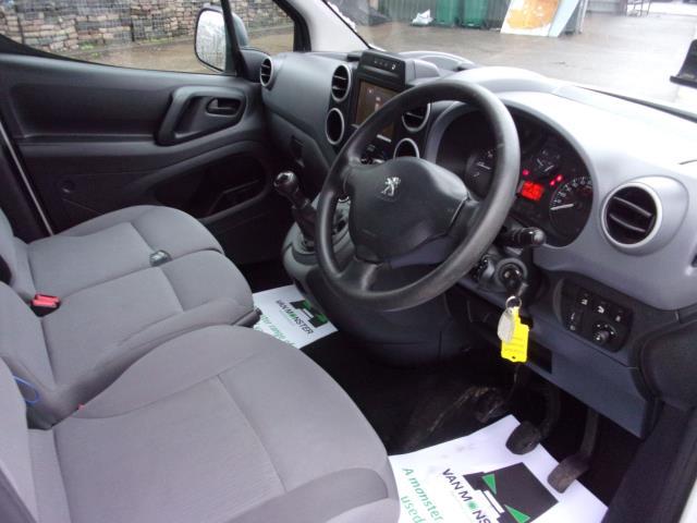 2016 Peugeot Partner 850 1.6 Bluehdi 100 Professional Van [Non Ss] (NV66KZX) Image 2